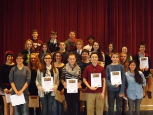 Ramsey High Hosts Annual Poetry Out Loud Competition