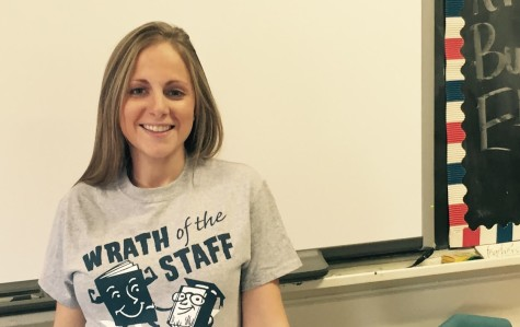 Mrs. Tadduni Strives for Success in the Classroom