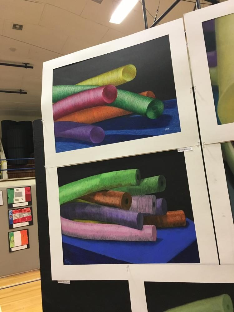 Annual District Wide Art Show Celebrates Student Achievement