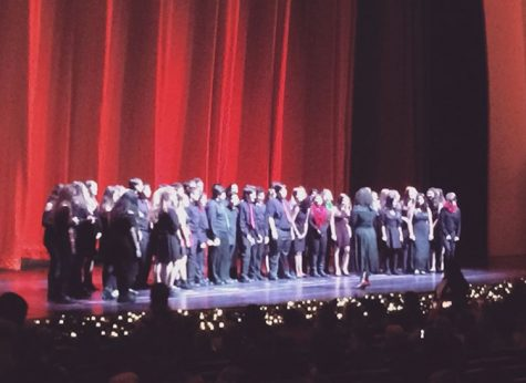 Ramsey High School Chorus Performs at Radio City