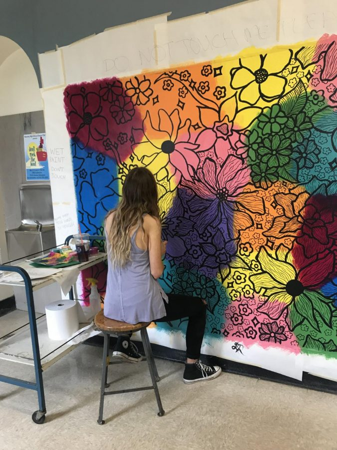 Grace Robblee Leaves Her Mark at RHS